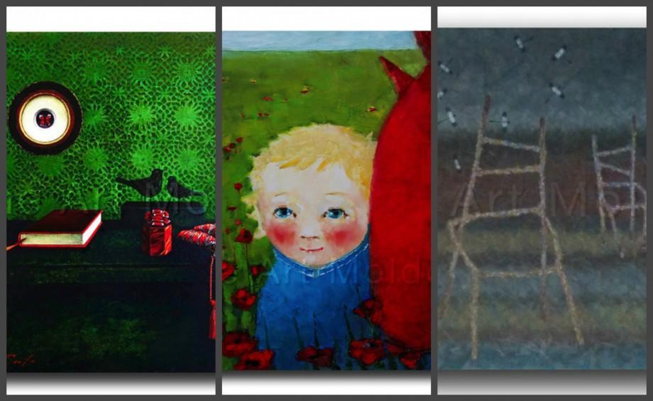 (foto) Picturile a trei artiști din Moldova sunt expuse la baștina lui William Shakespeare