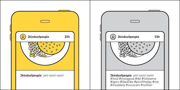 (foto) Ilustrații amuzante care demonstrează că oamenii se împart în două categorii