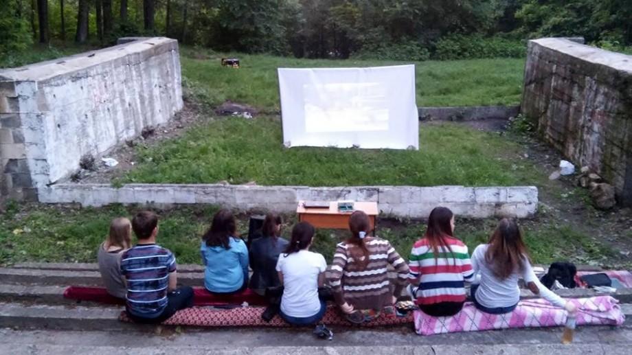 (foto) Prima proiecție în aer liber a cinematografului de la Buiucani a fost testată cu succes