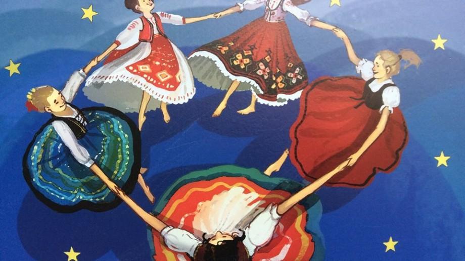 (galerie foto) Street-art inspirat din folclorul basarabean zugrăvit pe gardul Stadionul Republican