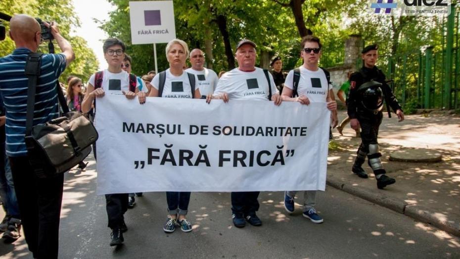 """Cea mai completă galerie foto de la marșul solidarității """"Moldova Pride"""" 2016. Cum a fost la eveniment"""