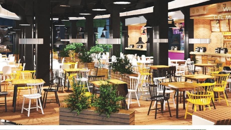 """(foto) Cum va arată în interior și exterior Zity Mall. Va avea cel mai mare """"food court"""" din Moldova"""