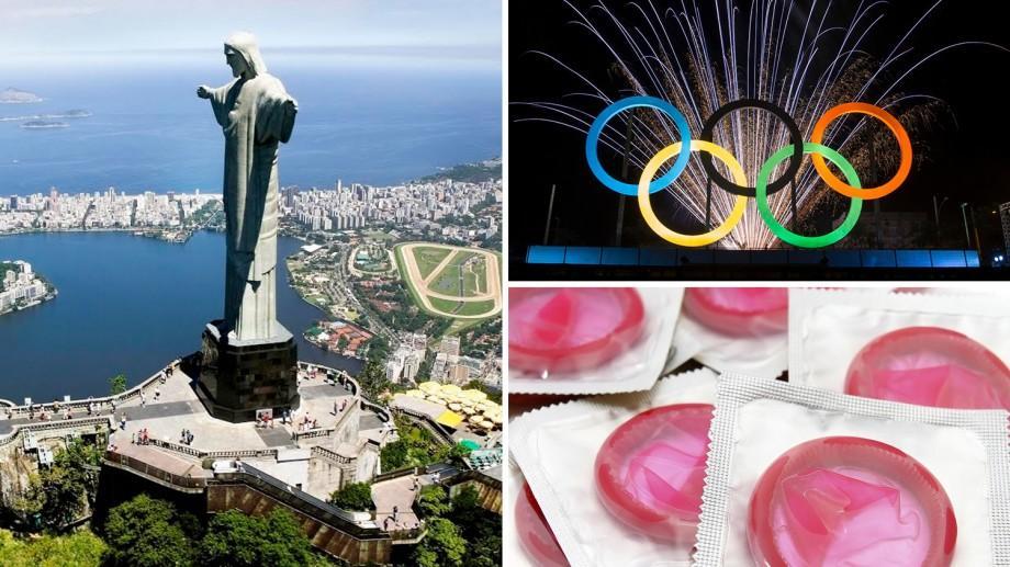 Jocurile Olimpice de la Rio: Sportivilor le vor fi distribuite 450.000 de prezervative