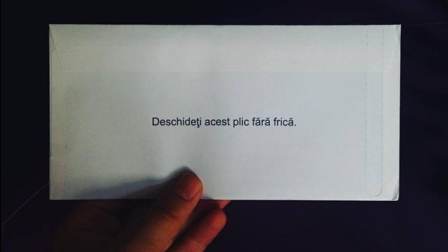 (foto) Cum au reacționat persoanele la scrisoarea de adio a fricii