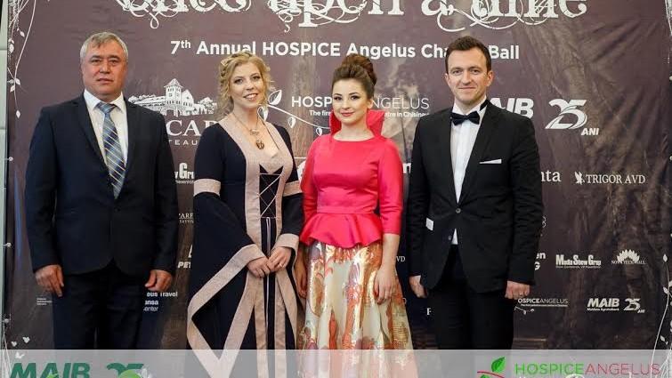 (foto) La cea de-a 7-a ediție a Balului de Caritate HOSPICE Angelus s-au strâns 32 mii euro