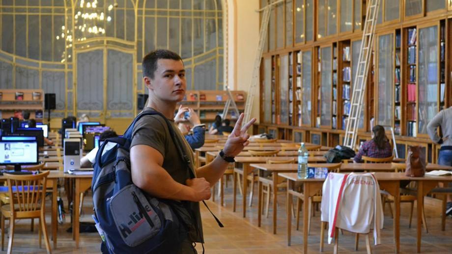 Student basarabean la Suceava: Toate aspectele de viață a studenției lui Silviu Cugut