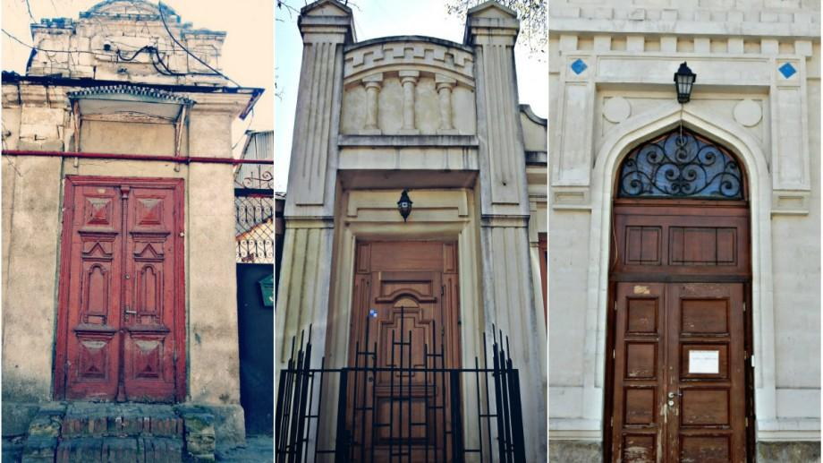 (foto) Ușile de pe străzile Chișinăului: strada Alessandro Bernardazzi