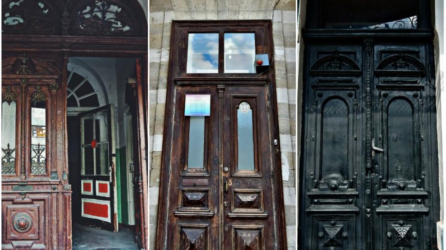 (foto) Ușile de pe străzile Chișinăului: strada Alexei Șciusev