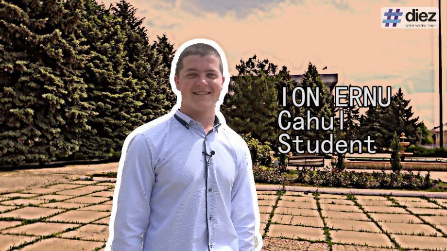 (video) Unde-s tinerii: La Cahul, unde e mai dulce soarele, Ion Ernu povestește despre provocările unui tânăr activ în regiune