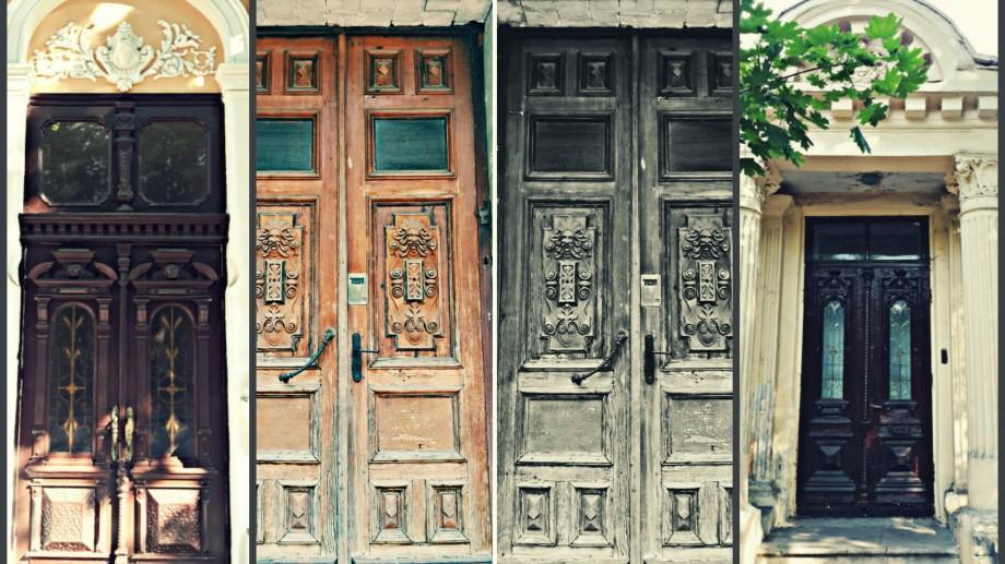 (foto) Ușile de pe străzile Chișinăului, ediția III: strada Nicolae Iorga