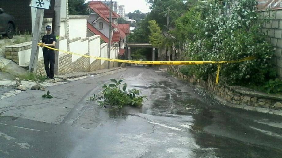 (foto) Consecințele ploii din 31 mai. Cea mai gravă situație s-a înregistrat pe str. Timiş