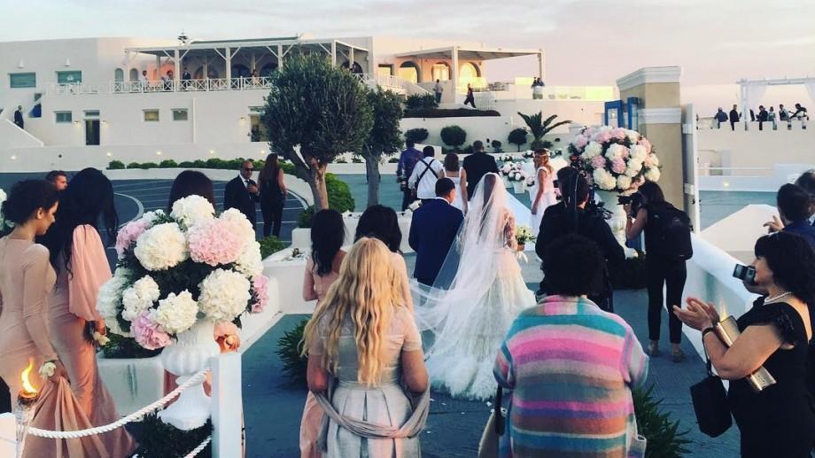 (foto, video) Primele imagini de la nunta Xeniei Deli. Cei doi ar fi făcut cunoștință în luna februarie