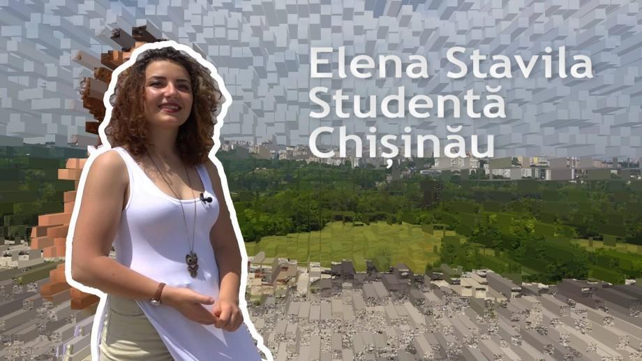 (video) Unde-s tinerii: La înălțimile Chișinăului Elena Stavila ne spune cum culoarele unei facultăți te învață mai mult decât aulele