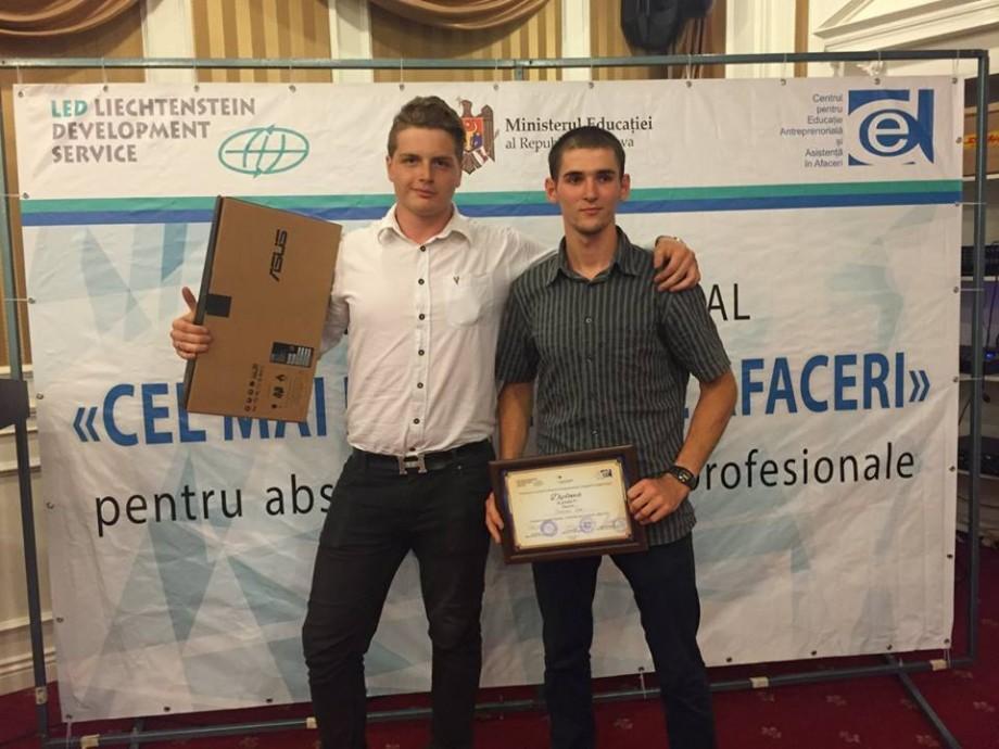 """Ei sunt câștigătorii concursului """"Cel mai bun plan de afaceri"""" al elevilor din colegii și școli profesionale"""