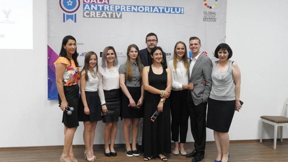 (foto) Gala Antreprenoriatului Creativ și-a ales cei mai creativi antreprenori ai show-ului de business