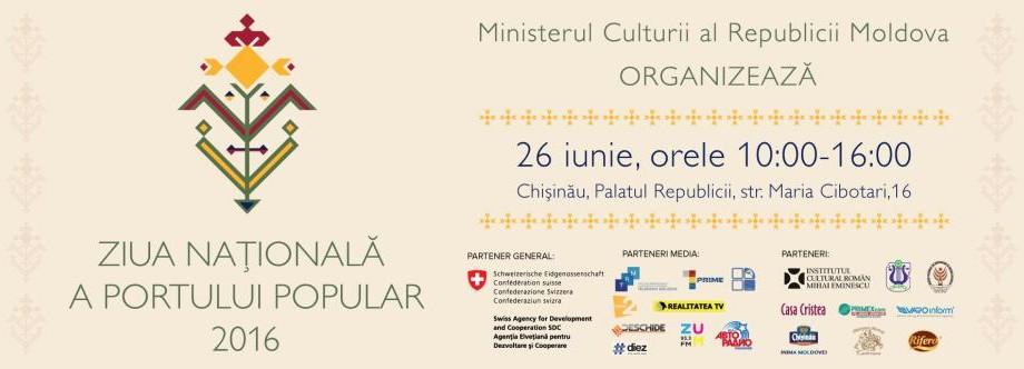 Premieră! În Moldova va sărbătorită Ziua Națională a Portului Popular. Detalii