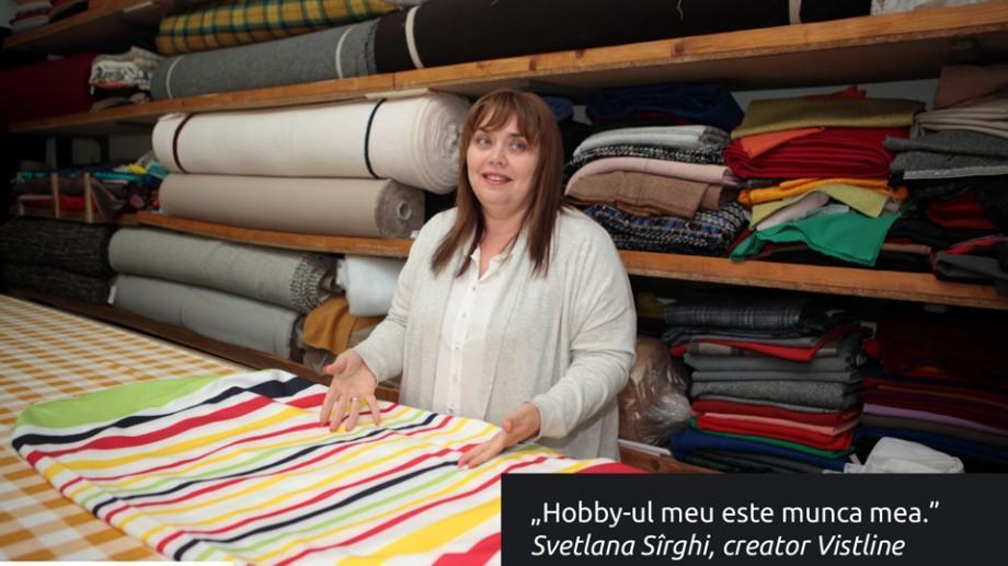 """(foto, video) Svetlana Sîrghi: """"Sunt un om fericit, deoarece hobby-ul meu este munca mea"""""""