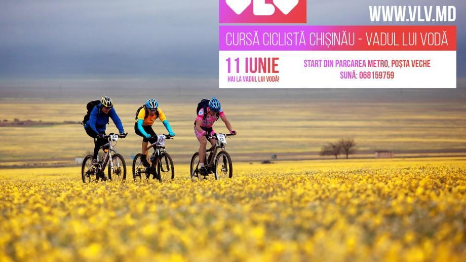 Pentru toți iubitorii de ciclism: La 11 iunie va avea loc cursa pe traseul Chișinău – Vadul lui Vodă