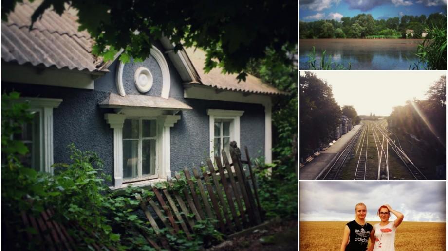 (foto) Case, fântâni, căpșuni și trenuri. Cum arată Ocnița, în toate anotimpurile, pe Instagram