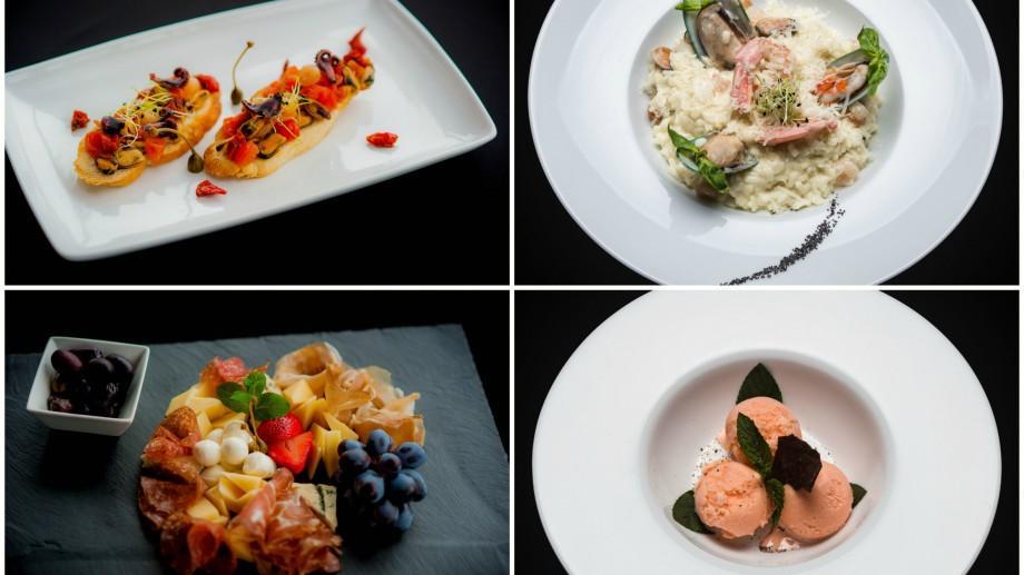 (foto, video) Un spectacol de arome și de gusturi. Cum arată meniul în imagini la Cielo Lounge & Restaurant