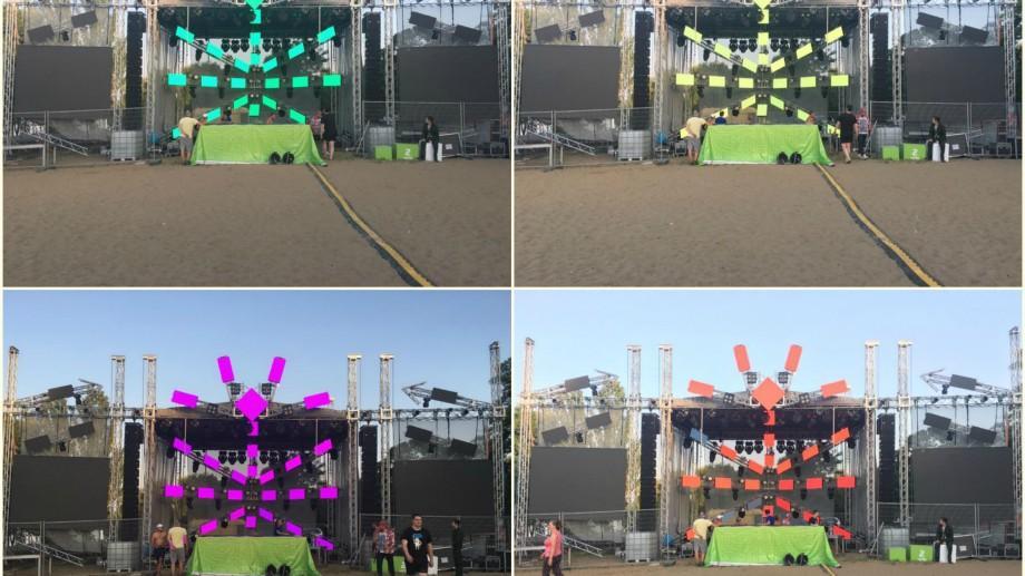 (foto, video) Cum arată pe rețelele de socializare Festivalul de muzică electronică FOSFOR