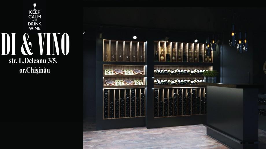 """Industria vinicolă din Moldova e cu un pas înainte: Rețeaua de vinuri """"Sălcuța"""" și-a deschis primul magazin """"Di&Vino"""""""