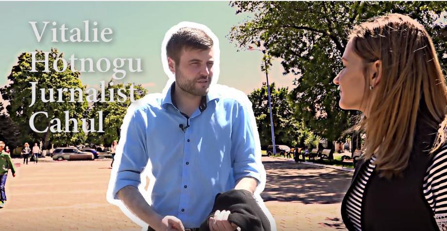 (video) Unde-s tinerii: Vitalie Hotnogu povestește cum e să fii jurnalist la Cahul: motivații și provocări