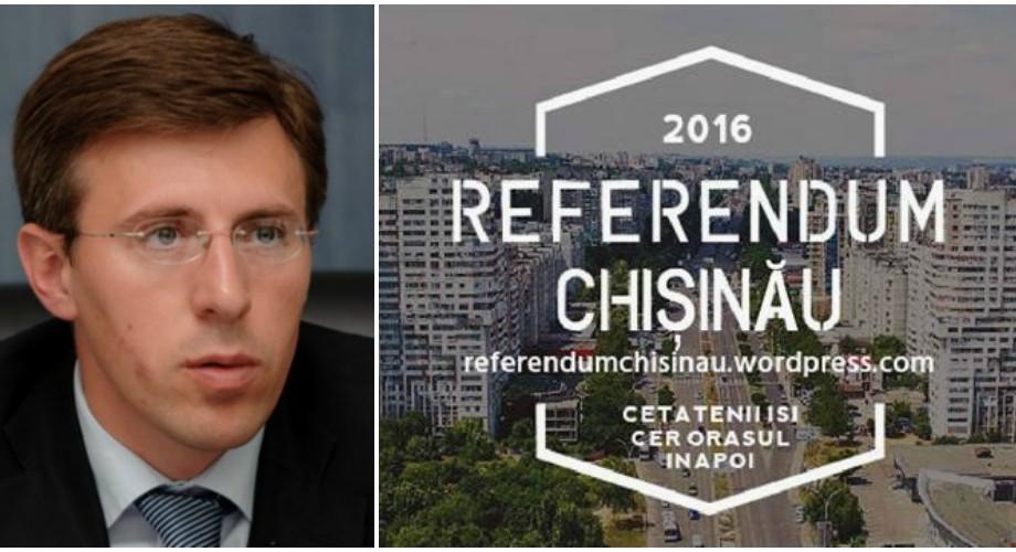 Referendum 2016 – platforma care luptă pentru demiterea primarului Dorin Chirtoacă