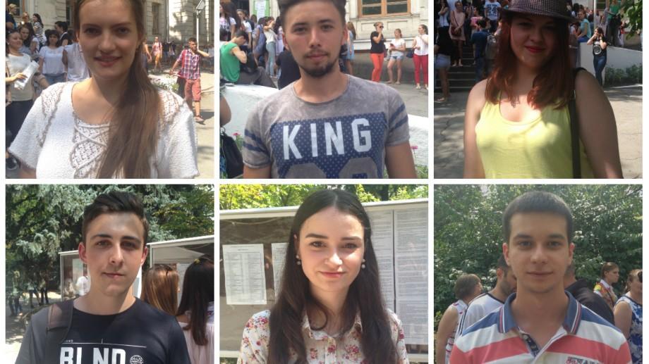 (vox) ADMITERE 2016: Tinerii absolvenți au stat la coadă în prima zi pentru a-și depune actele la USM