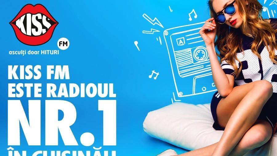 (studiu) Kiss FM este radioul NR. 1 în Chișinău și e îndrăgit de toate categoriile de vârstă