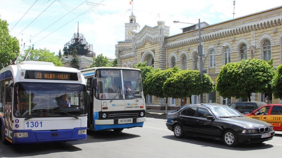 Trafic rutier suspendat în weekend. Iată cum va circula transportul public în Chișinău