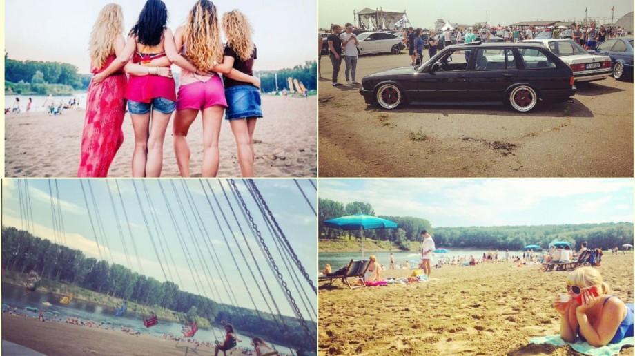 (foto) Apă, nisip, soare, lume relaxată. Nu este Marea Neagră, este Vadul lui Vodă. Cum arată plaja pe Instagram