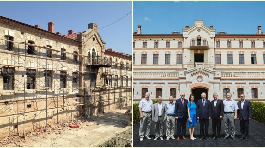 (foto) A prins a doua viață și își așteaptă vizitatorii, dar cum arăta Castelul Mimi până la reconstrucție