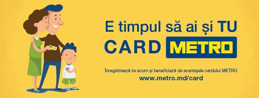 Fă-ți un card METRO și profită de independența de a face cumpărături