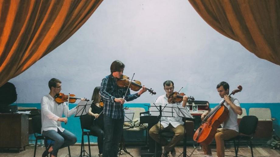 (foto) Festivalului Moldo Crescendo: Concert de muzică clasică printre ruinele conacului Ciolac-Malski