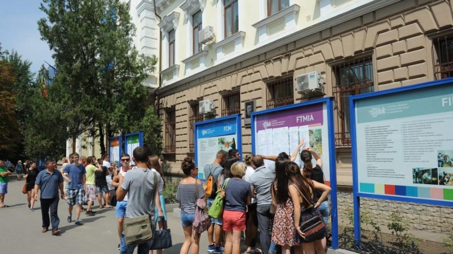 ADMITERE 2016: Universitatea Tehnică a Moldovei a anunțat rezultatele turului I