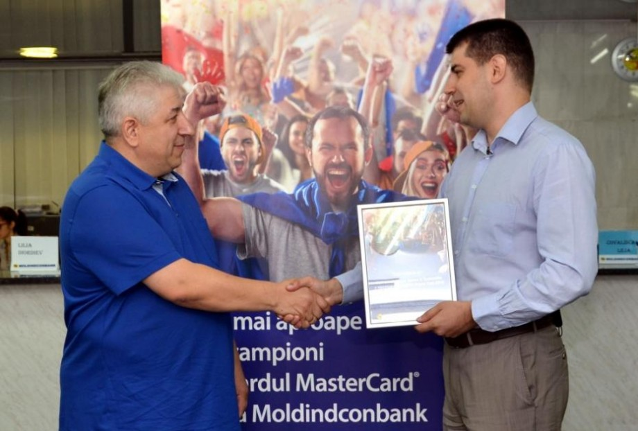 """Moldindconbank şi MasterCard au desemnat """"campionul"""", care va merge la Super Cupa Europei 2016!"""