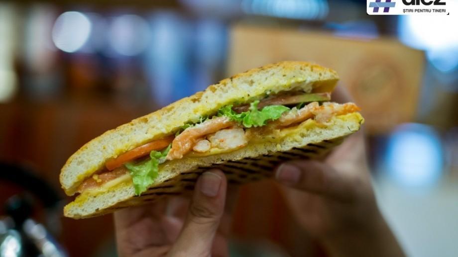 (foto) Recenzia #diez: În bucătăria celui mai nou sandwich din Chișinău, Grand Cubano din meniul All you can eat