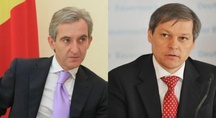 (video) Propunerea lui Leancă către premierul român Dacian Cioloș