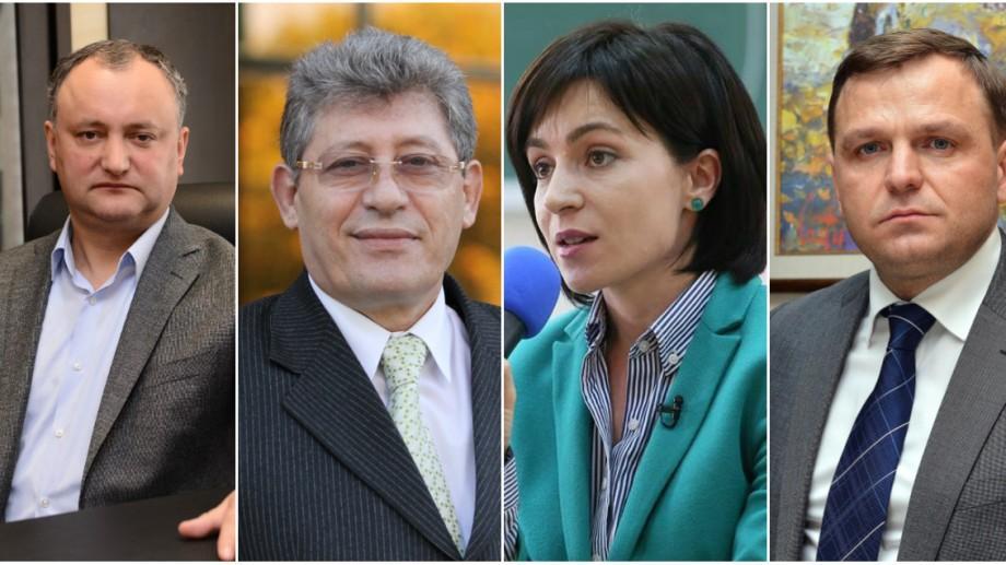 Start pentru înregistrare. Lista candidaților la funcția de președinte al Republicii Moldova