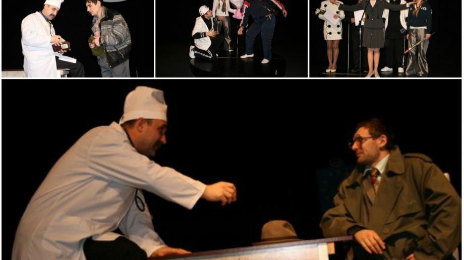 "(video) Teatrul național Satiricus își va prezinta piesa ""Made in Moldova"" la Bruxelles"