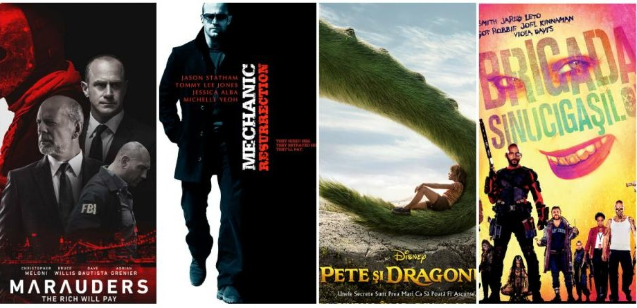 (video) Filmele lunii august: Iată ce pelicule vor fi ecranizate în cinematografele Patria