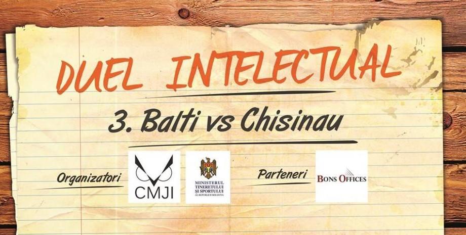 Tineri din Bălți și Chișinău, pasionați de jocuri intelectuale, se vor întâlni într-un duel