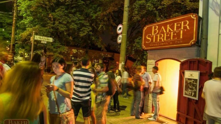 (foto) Baker Street – localul care a readus la viață o intersecție din Chișinău