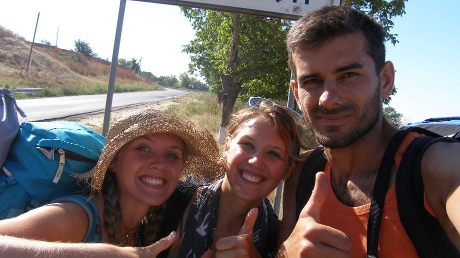 De la Naslavcea la Giurgiulești: Cum au străbătut țara pe jos patru tineri din Moldova