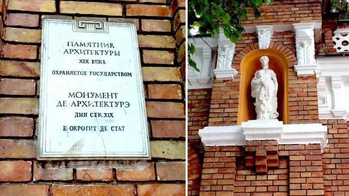(foto) Descoperiri urbane: Conacul familiei Purcel de pe strada cu mult optimism istoric din Chișinău