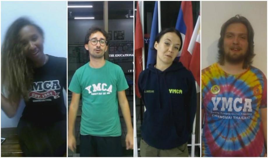 (video) Mai mulți tineri de la YMCA felicită Moldova cu prilejul Zilei Independenței