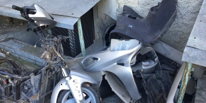 (video) Un tânăr de 18 ani este bănuit de furtul a două motociclete din sectoarele Botanica şi Buiucani