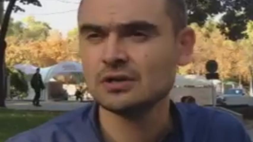 Andrei Donică, cel care l-a stropit cu lapte pe Ministrul Finanțelor, a fost reținut pentru 72 de ore