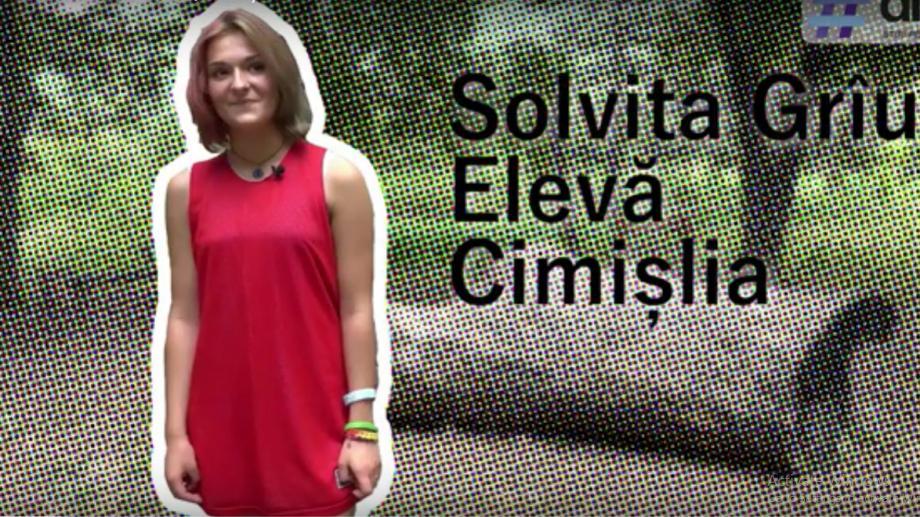 (video) Unde-s tinerii: Solvita Grîu, fata care face karate și crede că voluntariatul va salva lumea